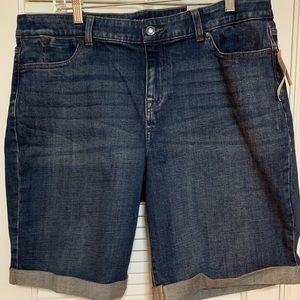 NBW NWT Talbots boyfriend shorts